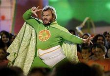 <p>Jack Black hosts Nickelodeon's Kids' Choice Awards in Los Angeles March 29, 2008. REUTERS/Mario Anzuoni</p>