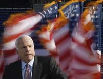 <p>Il candidato repubblicano alla presidenza americana John McCain. REUTERS/Jason Reed (UNITED STATES)</p>