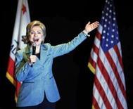 <p>Hillary Clinton fala em evento para arrecadação de fundos para a campanha, em Beverly Hills, California, 3 de abril de 2008. Photo by Mark Avery</p>