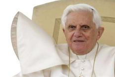 <p>Papa Benedetto XVI. REUTERS/Max Rossi</p>