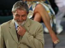 <p>O presidente Lula em cerimônia no Palácio do Planalto no dia 8 de abril. Photo by Jamil Bittar</p>