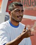 <p>O jogador Romário, que acaba de se aposentar, em foto de arquivo. Photo by Marc Serota</p>