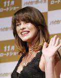 <p>A atriz Milla Jovovich em foto de arquivo. Photo by (C) Issei Kato</p>