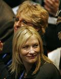 "<p>Actress Cate Blanchett attends the opening ceremony of the ""Australia 2020 Summit"" in Canberra April 19, 2008. The two-day summit at parliament aims to throw up at least 10 big ideas to improve Australia's future by 2020, including governance, lifting creativity and how best to narrow a 17-year life expectancy gap between black and white Australians. REUTERS/Daniel Munoz</p>"