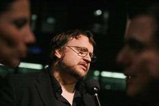 <p>Mexican director Guillermo Del Toro is interviewed at the 79th Academy Awards Foreign Language Film Award reception at the Samuel Goldwyn theater in Beverly Hills, California, February 23, 2007. REUTERS/Mario Anzuoni</p>