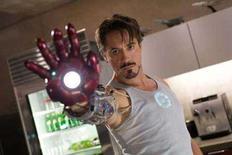 "<p>Robert Downey Jr. plays billionaire industrialist Tony Stark in ""Iron Man"" in this undated publicity handout photo. REUTERS/Paramount Pictures/Handout</p>"