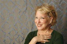 """<p>Bette Midler poses for a portrait during a media day promoting the film """"Then She Found Me"""" in New York April 21, 2008. REUTERS/Lucas Jackson</p>"""