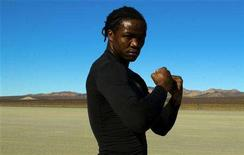 "<p>Ugandan child soldier turned world champion boxer Kassim ""The Dream"" Ouma is shown in this film still from the documentary ""Kassim the Dream"". REUTERS/Believe Media and Urban Landscapes/Handout</p>"