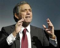 <p>Les Moonves, President and CEO of CBS Corporation, speaks at a forum in New York February 6, 2007. REUTERS/Chip East</p>