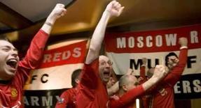 <p>O Manchester United deu um grande passo rumo ao título do Campeonato Inglês ao golear o West Ham United por 4 x 1 no Old Trafford neste sábado, depois de jogar mais da metade do jogo com 10 homens em campo. Photo by Thomas Peter</p>