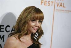 "<p>Actress Christina Ricci attends the premiere of the film ""Speed Racer"" during the 2008 Tribeca Film Festival in New York May 3, 2008. REUTERS/Lucas Jackson</p>"