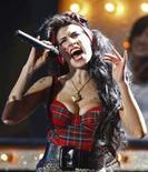 <p>A cantora Amy Winehouse, em foto de arquivo. Photo by Alessia Pierdomenico</p>