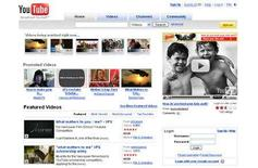 <p>A screenshot of YouTube.com, taken on May 21, 2008. REUTERS/www.youtube.com</p>