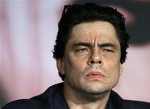 """<p>Cast member Benicio Del Toro attends a news conference for the film """"Che"""" by director Steven Soderbergh at the 61st Cannes Film Festival May 22, 2008. REUTERS/Jean-Paul Pelissier</p>"""