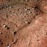 <p>Uma das primeiras imagens do pólo norte de Marte, capturada em 25 de maio de 2008. Photo by Reuters (Handout)</p>