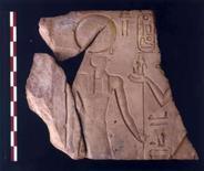 <p>Imagem de divulgação de artefato encontrado em quartel-general egípcio. Arqueólogos descobriram o que afirmam ser o quartel-general do exército faraônico da antiguidade que guardou a fronteira nordeste do Egito por mais de 1.500 anos, disse o governo egípcio. Photo by Reuters (Handout)</p>