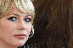 """<p>Michelle Williams arrives on the red carpet before the screening of the film """"Synecdoche, New York"""" by U.S. director Charlie Kaufman at the 61st Cannes Film Festival May 23, 2008. Williams does her best, but she cannot prevent """"Wendy and Lucy,"""" a weak tale about being broke and on the road in rural America, from dwindling into boredom. Prospects for boxoffice or even television and DVD success appear slim. REUTERS/Vincent Kessler</p>"""