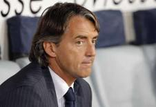 <p>Inter de Milão demite técnico Mancini. A Inter de Milão demitiu o técnico Roberto Mancini nesta quinta-feira, informou a equipe italiana.24 de maio. Photo by Alessandro Bianchi</p>