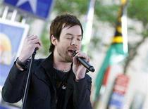 """<p>American Idol winner David Cook performs on NBC's """"Today"""" show in New York May 29, 2008. REUTERS/Brendan McDermid</p>"""