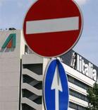 <p>Sede Alitalia di Roma, il 24 aprile 2008. REUTERS/Chris Helgren</p>