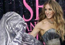 """<p>Sarah Jessica Parker arrives during the """"Sex And The City"""" movie premiere at Radio City Music Hall in New York May 27, 2008. REUTERS/Joshua Lott</p>"""