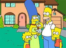 "<p>Television characters ""The Simpsons"" are seen in an undated handout image. REUTERS/Handout</p>"