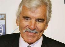 "<p>Dennis Farina poses at the premiere of his new film ""The Grand"", set in the world of professional poker, in Hollywood, March 5 2008 . REUTERS/Fred Prouser</p>"
