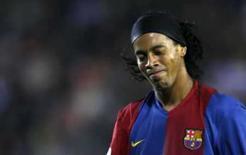 <p>Manchester City está confiante em contratar Ronaldinho e Jô. Ronaldinho Gaúcho em imagem de arquivo. O Manchester City está confiante na contratação do jogador para a próxima temporada. 22 de abril de 2007. Photo by Victor Fraile</p>
