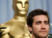 """<p>Oscar nominated actor in a supporting role Jake Gyllenhaal, for his role in """"Brokeback Mountain"""", attends the 78th annual Academy Awards nominees luncheon in Beverly Hills February 13, 2006. REUTERS/Mario Anzuoni</p>"""