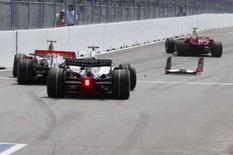 <p>McLaren considera punição dada a Hamilton dura, mas justa. A McLaren aceitou a punição imposta a Lewis Hamilton devido a uma batida na saída dos boxes no Grande Prêmio do Canadá, acidente esse que tirou o piloto inglês e o ferrarista Kimi Raikkonen da corrida. 8 de junho. Photo by Pool</p>
