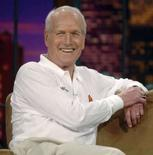 <p>Foto de arquivo do ator Paul Newman, no programa de TV Tonight Show de 2005. Photo by Jim Ruymen</p>