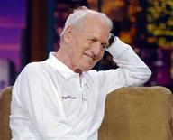 """<p>Actor Paul Newman during an appearance on """"The Tonight Show"""" in a 2005 photo. A longtime friend and business associate of the Oscar-winning actor said on Wednesday that Newman had made it known to his friends as far back as 18 months ago that he had cancer. REUTERS/Jim Ruymen</p>"""