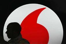 <p>Il logo di Vodafone. REUTERS/picture</p>