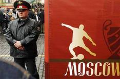 <p>Un poliziotto russo REUTERS/Oksana Yushko</p>