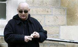 <p>British singer George O'Dowd, professionally known as Boy George, leaves Snaresbrook Crown Court in east London February 28, 2008. REUTERS/Alessia Pierdomenico</p>