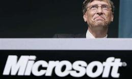 <p>Bill Gates a Tokyo il 7 maggio 2008. REUTERS/Yuriko Nakao</p>