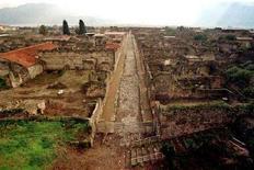<p>Vista panoramica del sito archeologico di Pompei (Napoli). Unesco Italia</p>