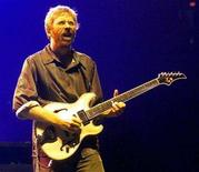<p>Phish guitarist/singer Trey Anastasio performs during the first of two sold-out performances at the Thomas & Mack Center in Las Vegas in this September 29, 2000 file photo. REUTERS/Ethan Miller</p>