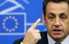 <p>Sob críticas, Sarkozy defende viagem à Olimpíada. O presidente francês, Nicolas Sarkozy, insistiu na quinta-feira que tem apoio de todos os países europeus na sua polêmica decisão de comparecer à cerimônia de abertura da Olimpíada de Pequim. 10 de julho. Photo by Vincent Kessler</p>