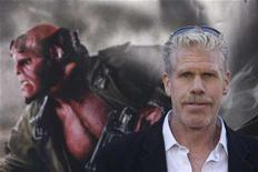 "<p>Actor Ron Perlman poses for photographers during the premiere of the movie ""Hellboy II The Golden Army"" in Los Angeles, California, in this file photo fromJune 28, 2008. REUTERS / Hector Mata</p>"