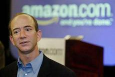 <p>Il presidente di Amazon.com Jeff Bezos in una foto d'archivio. REUTERS/Anthony P. Bolante</p>