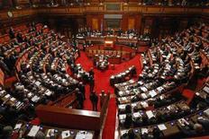 <p>L'aula del Senato REUTERS/Tony Gentile</p>