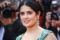 """<p>Salma Hayek arrives before the world premiere screening of """"Indiana Jones and the Kingdom of the Crystal Skull"""" by director Steven Spielberg at the 61st Cannes Film Festival May 18, 2008. REUTERS/Vincent Kessler</p>"""