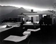 "<p>One of noted architectural photographer Julius Shulman's most famous photographs of the Kaufmann House in Palm Springs, California designed by architect Richard Neutra is shown in this handout released July 18, 2008. Shulman is the subject of a new documentary film ""Visual Acoustics The Modernism of Julius Shulman, directed by Eric Bricker. REUTERS/Copyright J. Paul Getty Trust/Handout</p>"