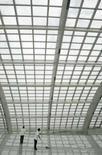 <p>A China inaugurou duas novas estações de metrô às vésperas das Olimpíadas. Na foto, a nova estação Expresso Aeroporto . Photo by Claro Cortes Iv</p>