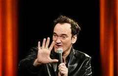 <p>U.S. director Quentin Tarantino gives a cinema master class at the 61st Cannes Film Festival May 22, 2008. REUTERS/Christian Hartmann</p>
