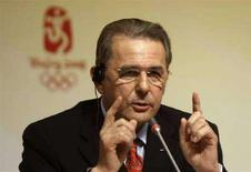 <p>Il presidente del Cio Jacques Rogge. REUTERS/Sergio Perez (CHINA)</p>