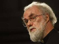 <p>The Archbishop of Canterbury Rowan Williams speaks during a seminar entitled 'Faith in the Future' at Great St Mary's Church in Cambridge, central England February 20, 2008. REUTERS/Darren Staples</p>