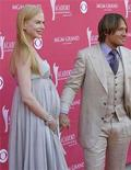 <p>Nicole Kidman and husband Keith Urban arrive at the 43rd Annual Academy of Country Music Awards show in Las Vegas, May 18, 2008. REUTERS/Richard Brian</p>