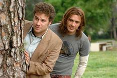 "<p>Seth Rogen and James Franco in a scene from ""Pineapple Express"". REUTERS/Columbia Pictures/Handout</p>"